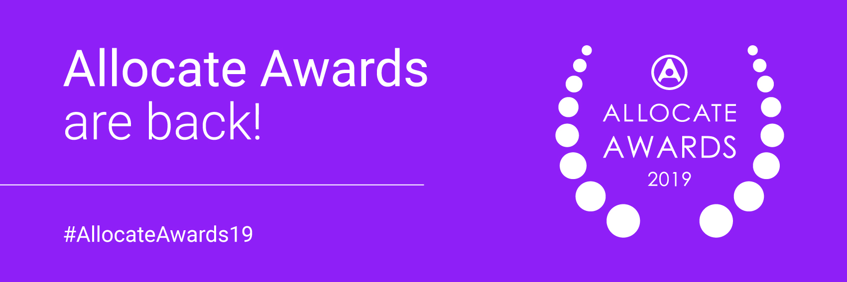 Allocate Awards 2019 Shortlist Announced