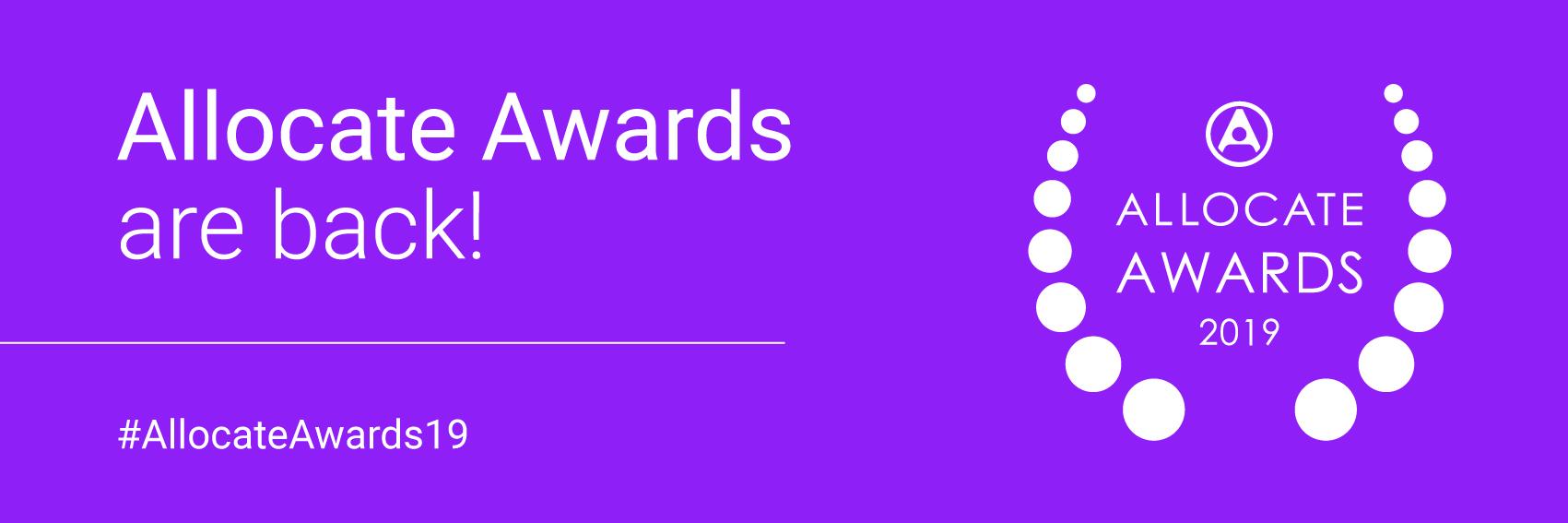Allocate Awards 2019 Shortlist Announced