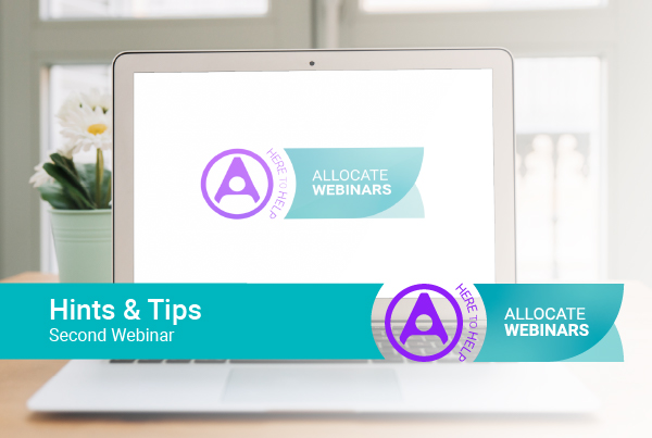 Join our second hints and tips webinar to help