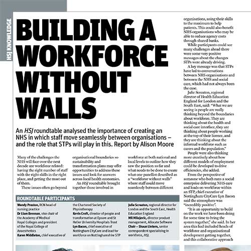 Building a Workforce Without Walls